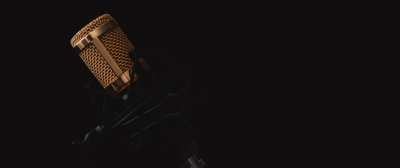 Goldenes Mikrofon